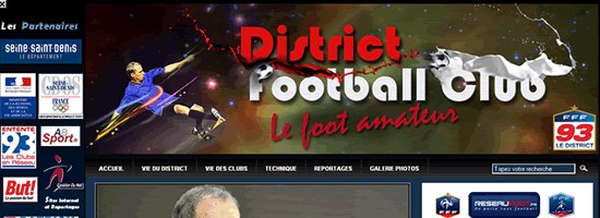 District Football 93 - Header