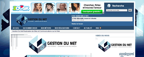 Gestion Du Net - Header