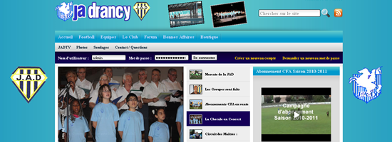 JA Drancy - Header